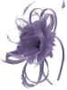 Failsworth Millinery Flower Fascinator in Lavender