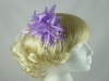 Flower Fascinator in Lilac