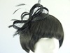Layla Fascinator in Black