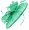 Failsworth Millinery Sinamay Disc Headpiece in Lido
