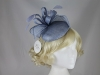 Hawkins Collection Button Headpiece with Loops and Leaves