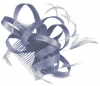 Hawkins Collection Loops Fascinator in Light Blue