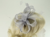 Hawkins Collection Sinamay Fascinator in Light Blue