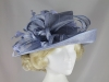 Hawkins Collection Upbrim Occasion Hat in Light Blue