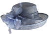Hawkins Collection Upbrim Wedding Hat in Light Blue