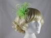 Swirl & Biots Fascinator on aliceband in Light Green