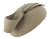 Failsworth Millinery Wool Felt Pillbox in Light Grey