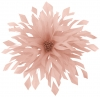 Aurora Collection Shaped Feather Fascinator in Light Pink