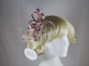 Hawkins Collection Loops Fascinator in Light Pink