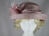 Hawkins Collection Upbrim Wedding Hat in Light Pink