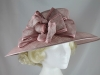 Hawkins Collection Wide Loops Occasion Hat in Light Pink