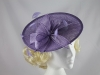 Lilac Disc Headpiece
