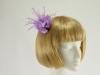 Lilac Fascinator