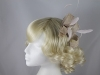 Gwyther Snoxells Sinamay Corkscrew Fascinator