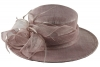 Hawkins Collection Loops and Biots Wedding Hat in Lilac