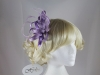 Hawkins Collection Loops Fascinator in Lilac