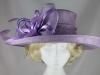 Hawkins Collection Shimmer Loops Events Hat in Lilac