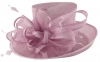 Hawkins Collection Upbrim Occasion Hat in Lilac