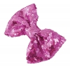 Molly and Rose Sequin Hair Bow in Lilac