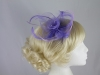 Swirl & Biots Fascinator on comb in Lilac