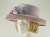Lilac Wedding Hat