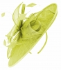 Failsworth Millinery Sinamay Leaves Disc in Lime