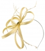 Failsworth Millinery Sinamay Loops Fascinator in Linen