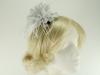 Failsworth Millinery Feather Fascinator in Luna