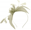 Failsworth Millinery Sinamay Fascinator in Luna