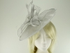 Failsworth Millinery Sinamay Leaves Disc in Luna