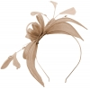 Failsworth Millinery Sinamay Fascinator in Lupin