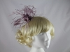 Maddox Fascinator in Smoke