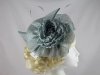 Maddox Flower Headpiece in Mist
