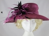 Maddox Magenta Wedding / Events Hat