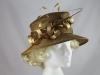Maddox Wedding Hat in Bronze