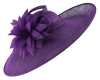 Failsworth Millinery Events Saucer Headpiece in Majesty