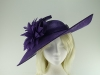 Failsworth Millinery Ascot Saucer Headpiece in Majesty