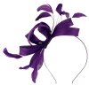 Failsworth Millinery Wide Loops Fascinator in Majesty