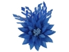Failsworth Millinery Feather Flower Fascinator in Marine