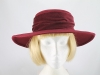 Marions Hats Burgundy Formal Hat