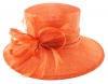 Hawkins Collection Down Brim Occasion Hat in Marmalade