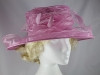 Failsworth Millinery Organza Occasion Hat in Mauve