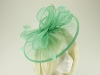 Failsworth Millinery Sinamay Disc Headpiece in Miami