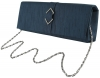 Failsworth Millinery Silk Evening Bag in Midnight