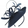 Failsworth Millinery Silk Disc in Midnight
