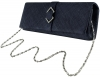 Failsworth Millinery Sinamay Occasion Bag in Midnight