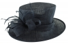 Failsworth Millinery Wedding Hat in Midnight