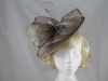 Failsworth Millinery Disc in Mink-Silver