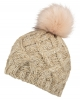 Boardman Sparkle Bobble Ski Hat in Mink