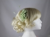 Double Flower Fascinator